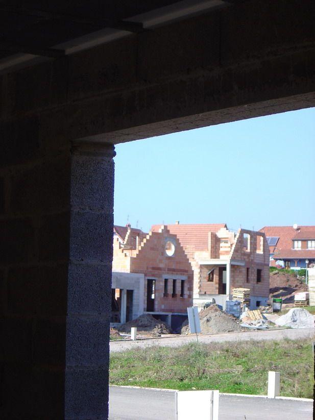 Vue de la porte fen tre du salon nord for Pro fenetre mortagne du nord